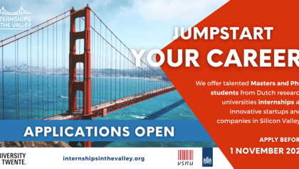 Jumpstart your career in Silicon Valley