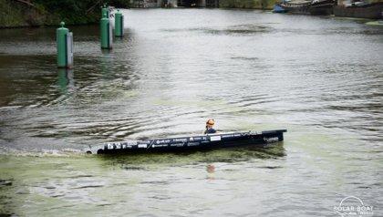 Solar Boat Twente with 'Echo' to Portugal