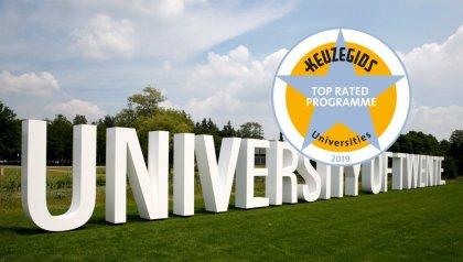 UT doubles number of top rated programmes in the Keuzegids Universiteiten study guide