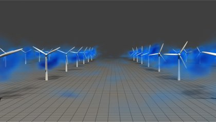 Wind farms benefit from strong 'rivers of air' in lower atmosphere