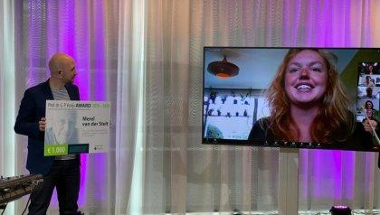 Vooijs award for Merel van der Stelt