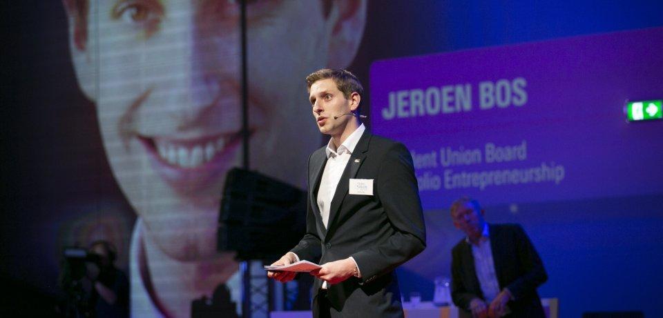 Jeroen Bos van de Student Union