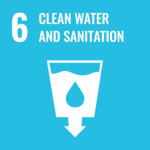 Logo of the Sustainable Development Goal 6: Clean water and sanitation