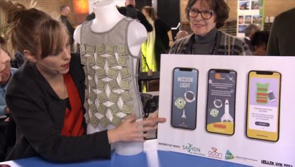 Portable respiration trainer from Twente wins first episode of Briljant!