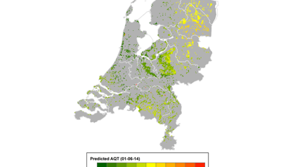 University of Twente maps out ticks in the Netherlands