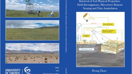 FULLY DIGITAL (NO PUBLIC) : Phd Defence Hong Zhao   Retrieval of soil physical properties: Field investigations, microwave remote sensing and data assimilation