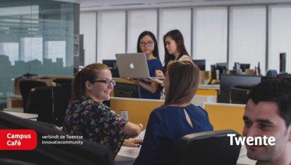 Meet the Twente companies of the future during Campus Café