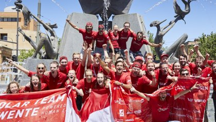 Mixed feelings for Solar Team Twente at the finish of the World Solar Challenge